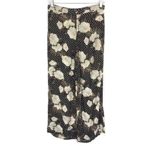 Amuse Society Floral Pants Large Lightweight